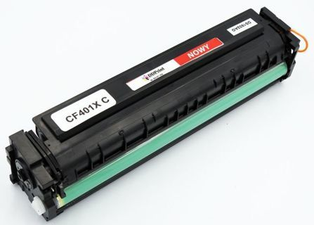 CF401X HP Cyan, Nowy zamiennik do HP Color LaserJet Pro M252 / M277 / M227 / 2300 stron / Niebieski