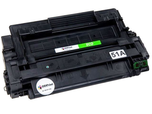 Toner 51A - Q7551A do HP LaserJet P3005, M3027, M3035 - Eco 6K - Zamiennik