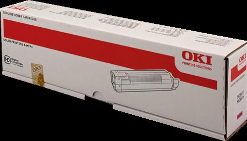 Toner Magenta Oki MC861 / 44059254 / Oryginalny / 10000 stron