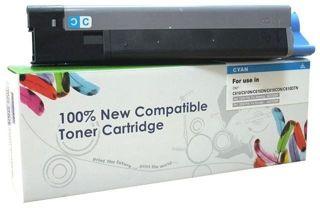 Toner do OKI C610 / 44315307 / Cyan / 6000 stron / zamiennik