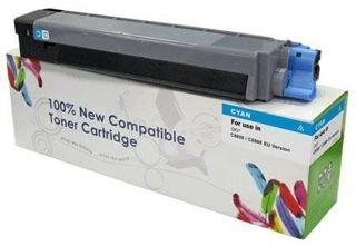 Toner do OKI C810 C830 44059107 / Cyan / 8000 stron / zamiennik