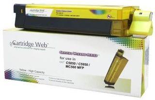 Toner do OKI C5850 C5950 MC560 / 43865721 / Yellow / 6000 stron / zamiennik
