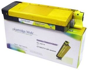 Toner do OKI C710 C711 / 44318605 / Yellow / 11500 stron / zamiennik