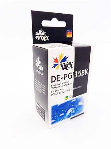 Tusz Czarny do Canon iP100 / PGI 35BK 1509B001 / Black / 16 ml / zamiennik z chipem