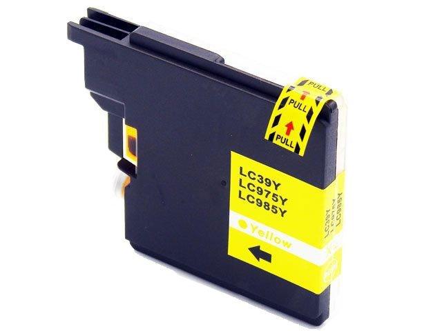 Tusz LC985 / LC-985 do drukarki Brother DCP-J125 DCP-J315W - Yellow / Żółty / 20ml