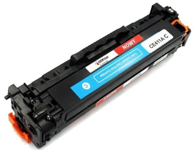 CE411A Cyan / Niebieski toner do HP LaserJet M351 / M375 / M451 / M475 / 2600 stron Nowy Zamiennik